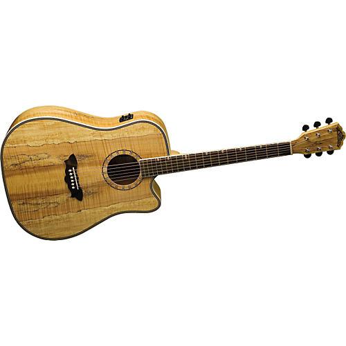 Washburn Southwest Series D46CESPK Cutaway Dreadnought Acoustic-Electric Guitar-thumbnail