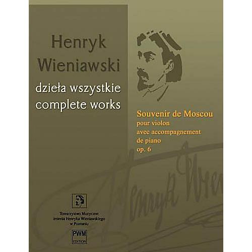 PWM Souvenir de Moscou, Op. 6 - Violin with Piano Accompaniment PWM Series Softcover