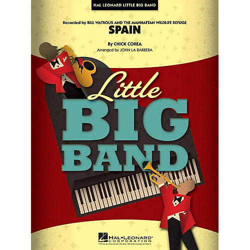 Hal Leonard Spain Jazz Band Level 4 Arranged by John La Barbera-thumbnail