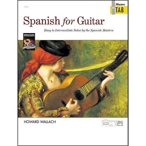 Alfred Spanish for Guitar Masters in TAB