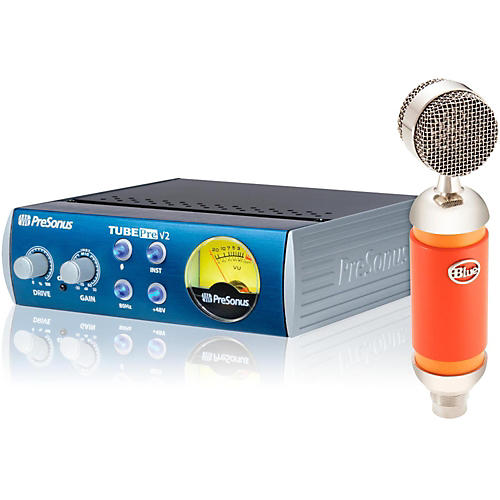 BLUE Spark Studio Mic with TubePre V2 Mic Preamp Bundle