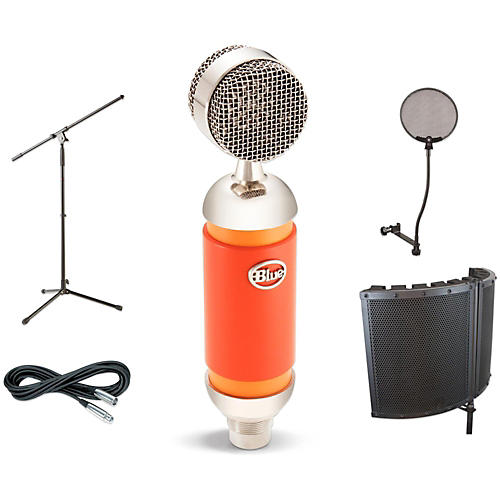 BLUE Spark VS1 Stand Pop Filter and Cable Kit-thumbnail