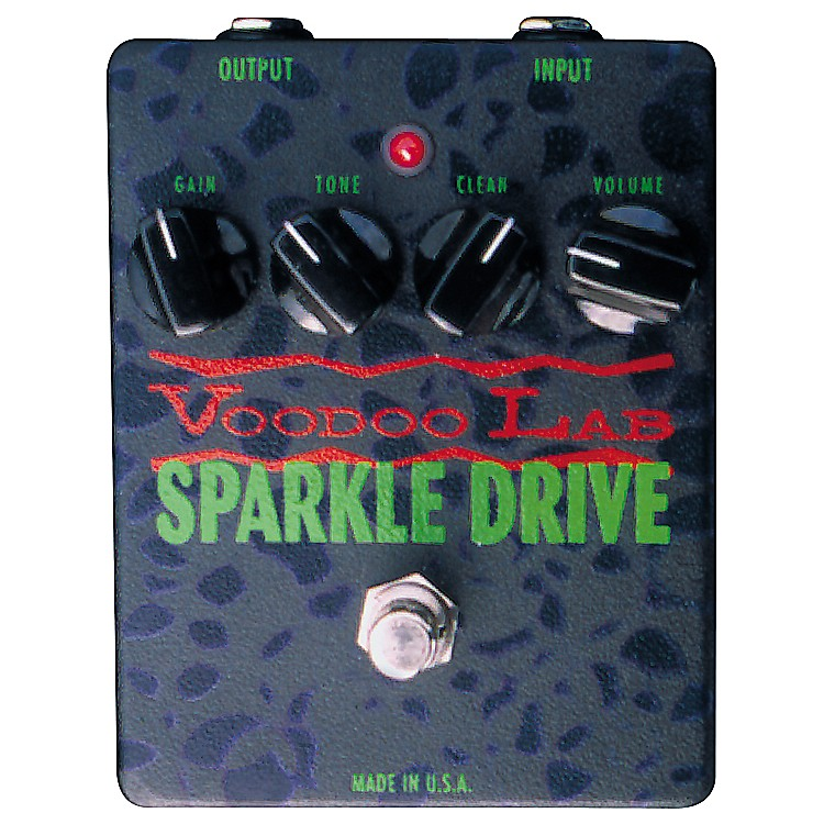 voodoo lab sparkle drive pedal musician 39 s friend. Black Bedroom Furniture Sets. Home Design Ideas