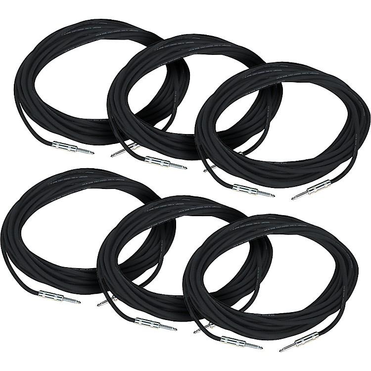 Rapco HorizonSpeaker Cable 18-Gauge 20 Feet 6-Pack