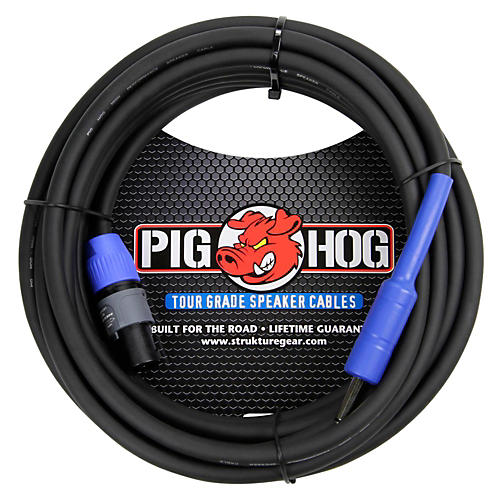 Pig Hog Speaker Cable SPKON to 1/4