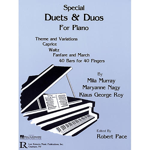 Lee Roberts Special Duets and Duos Pace Piano Education Series Written by Mila Murray-thumbnail