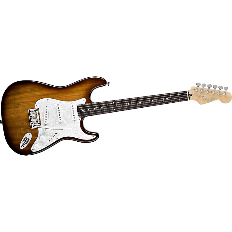 FenderSpecial Edition Koa Stratocaster Electric Guitar