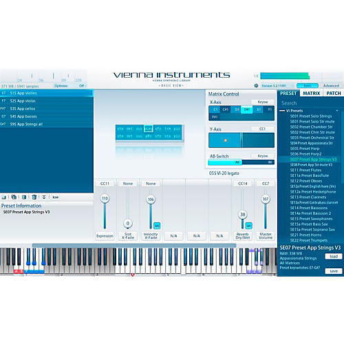 Vienna Instruments Special Edition Vol. 2 Strings PLUS Software Download