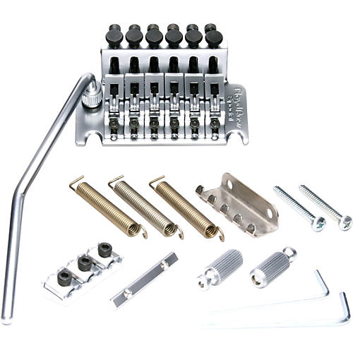 Floyd Rose Special Series Tremolo Bridge with R2 Nut Satin Chrome