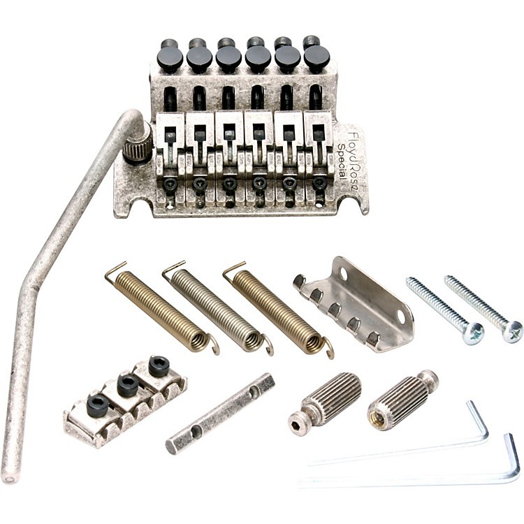 Floyd Rose Special Series Tremolo Bridge with R3 Nut Satin Chrome