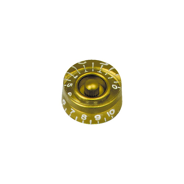 DiMarzio Speed Knob Replacement 1-10 Gold