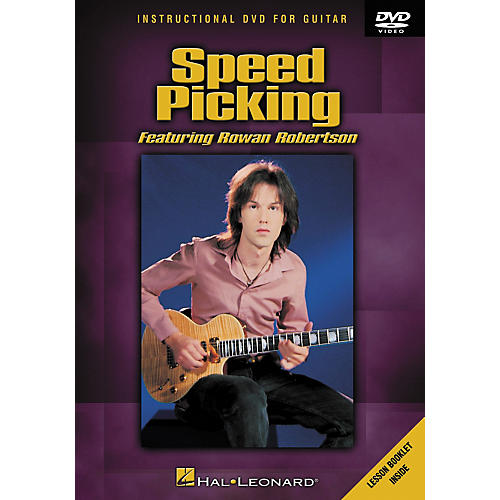 Hal Leonard Speed Picking Featuring Rowan Robertson DVD with Tab-thumbnail