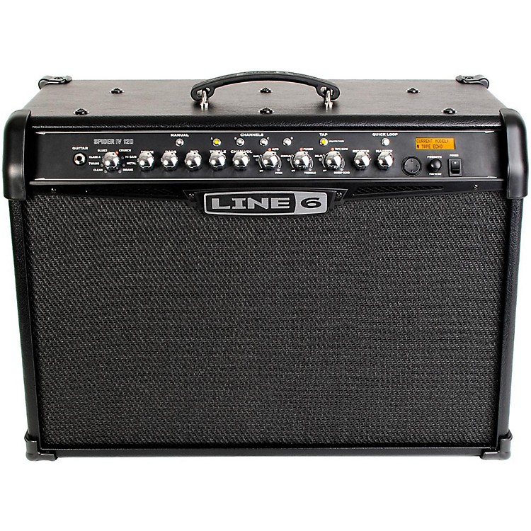 Line 6 Spider IV 120 120W 2x10 Guitar Combo Amp Black