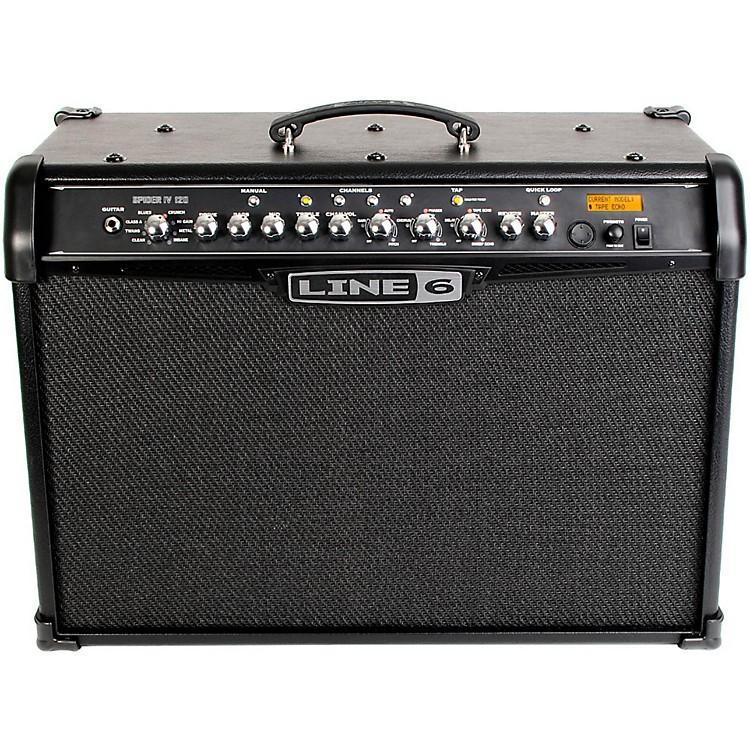 Line 6Spider IV 120 120W 2x10 Guitar Combo AmpBlack