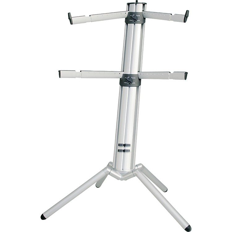 K&M Spider Pro Keyboard Stand Silver