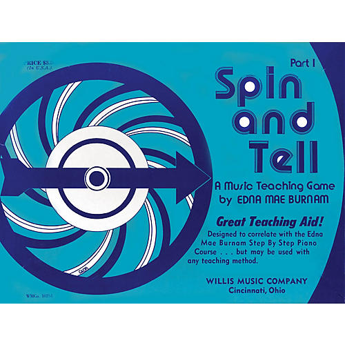Willis Music Spin and Tell - Game 1 (A Music Teaching Game/Early Elem Level) Willis Series by Edna Mae Burnam-thumbnail