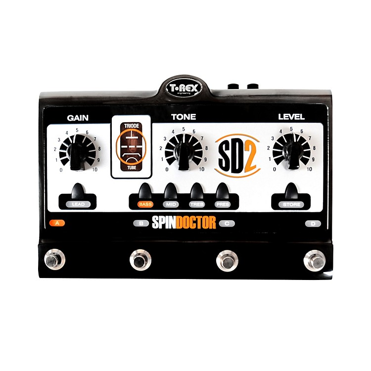 T-Rex EngineeringSpinDoctor 2 Overdrive Preamp Guitar Effects Pedal
