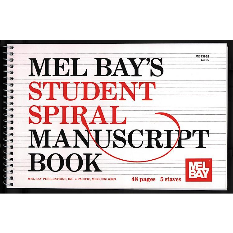 Mel BaySpiral Bound Student Manuscript Book