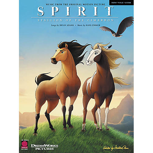 Cherry Lane Spirit - Stallion of the Cimarron Piano/Vocal/Guitar Artist Songbook