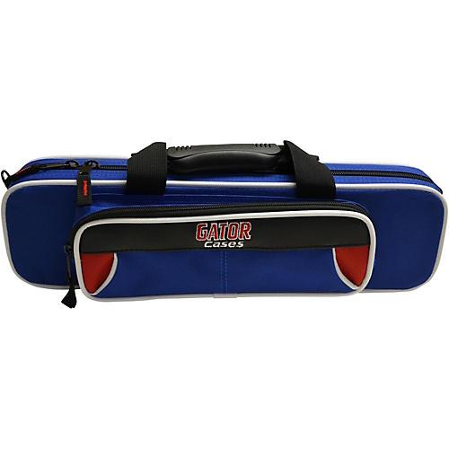 Gator Spirit Series Lightweight Flute Case Red and Blue