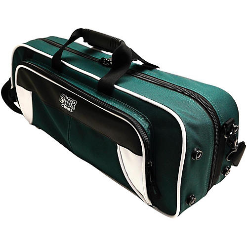 Gator Spirit Series Lightweight Trumpet Case White and Green