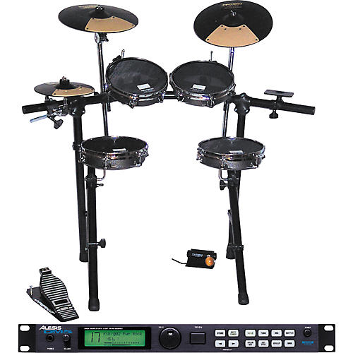 Pintech Spirit USA & Alesis DM5 Drum Set-thumbnail