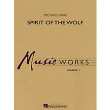 Hal Leonard Spirit of the Wolf Concert Band Level 1 Composed by Michael Oare