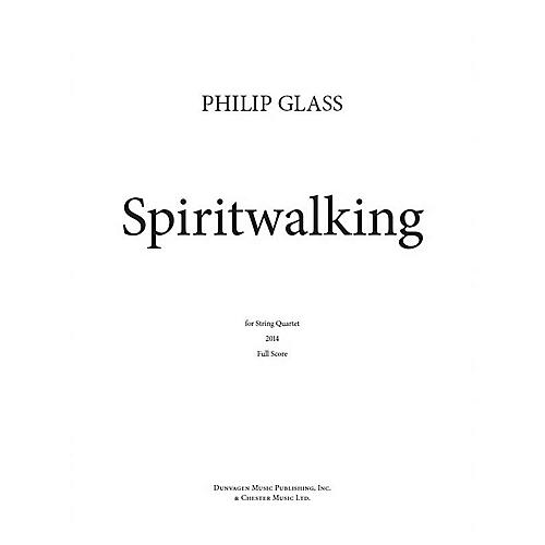 Dunvagen Spiritwalking Music Sales America Series Softcover Composed by Philip Glass-thumbnail