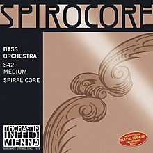 Thomastik Spirocore 3/4 Size Double Bass Strings 3/4 Size Weich E String