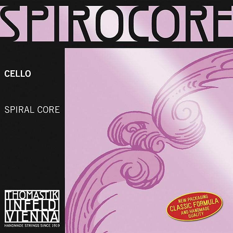 ThomastikSpirocore 4/4 Size Weich (Light) Gauge Cello Strings4/4Weich D String