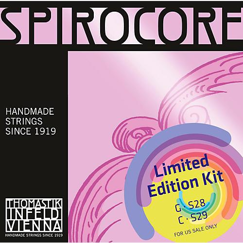 Thomastik Spirocore Cello Chrome G&C Value Pack