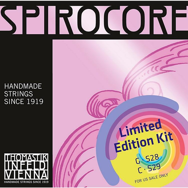 ThomastikSpirocore Cello Chrome G&C Value Pack