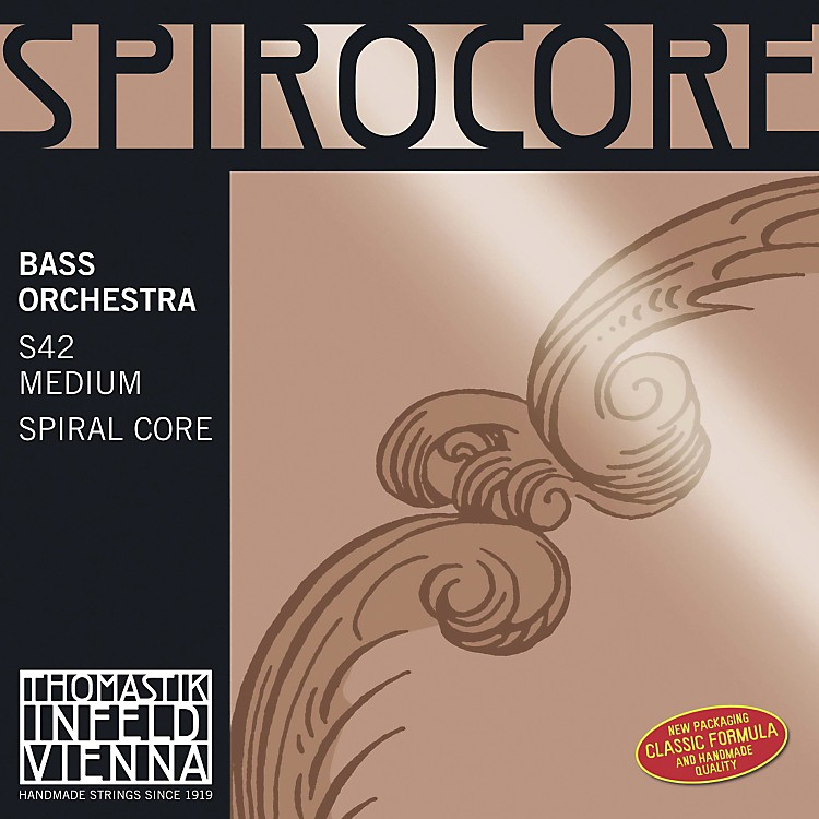 Thomastik Spirocore Double Bass Strings Low C String 4/4 Size