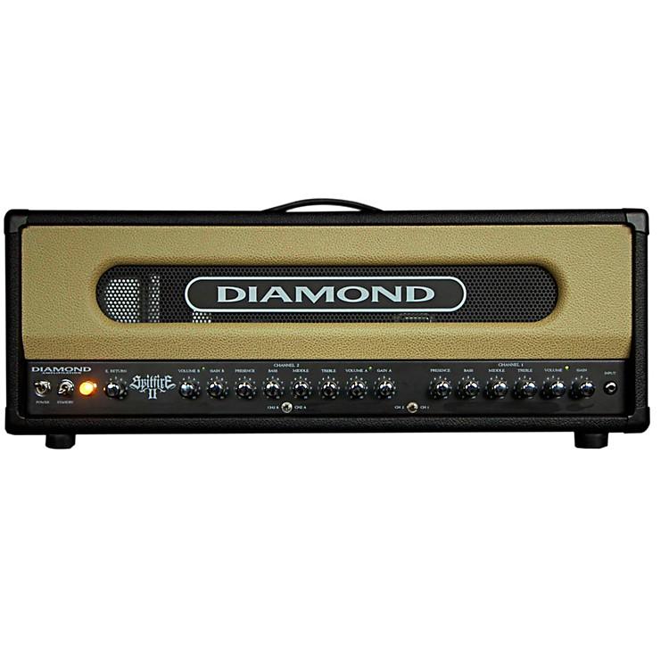Diamond AmplificationSpitfire II USA Custom Series 50W/100W Tube Guitar Amp HeadBlack
