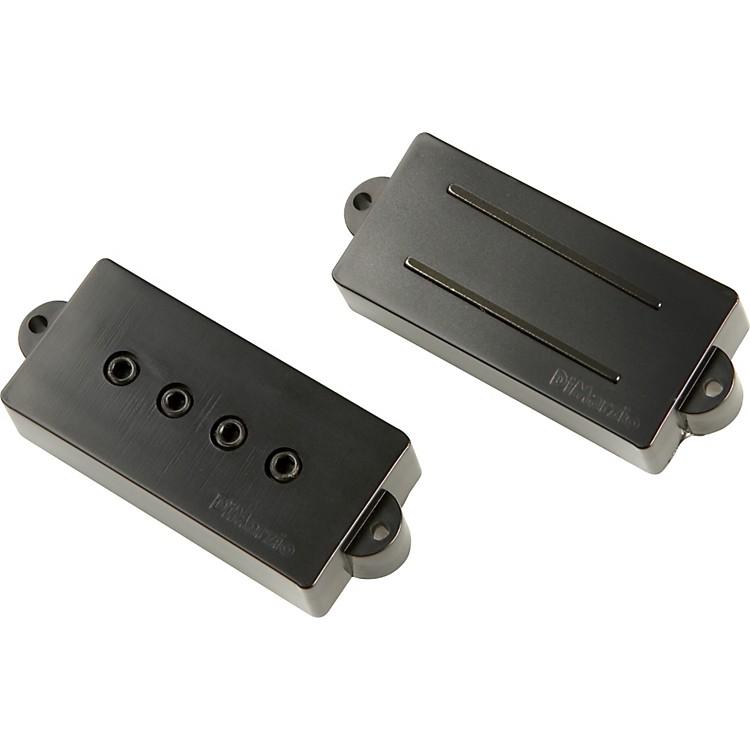 DiMarzioSplit P Bass Pre-Wired PickguardBlack