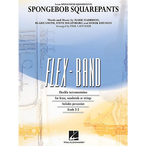 Hal Leonard SpongeBob SquarePants Concert Band Level 2-3 Arranged by Paul Lavender-thumbnail