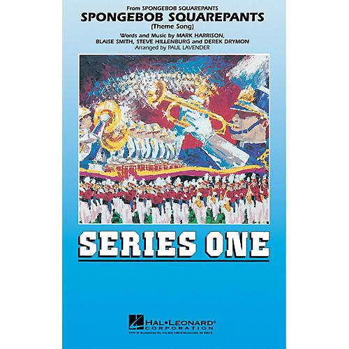 Hal Leonard Spongebob Squarepants Marching Band Level 2 Arranged by Paul Lavender-thumbnail