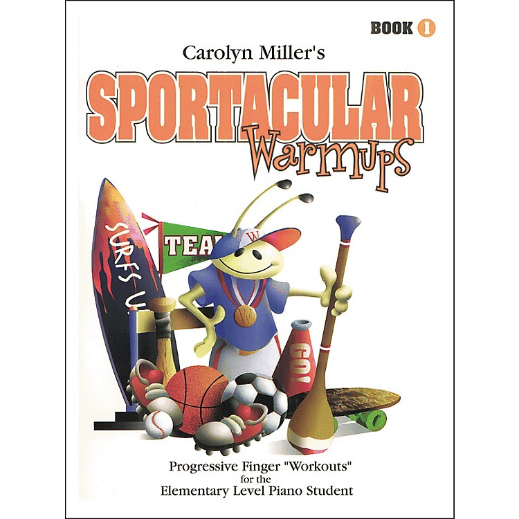 Willis Music Sportacular Warmups Book 1 Progressive Finger