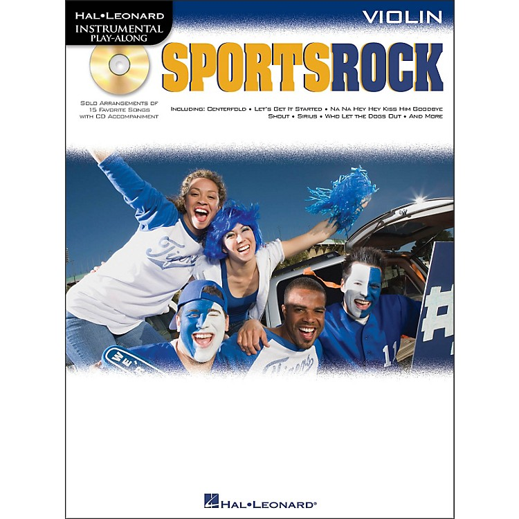 Hal Leonard Sports Rock for Violin - Instrumental Play-Along Book/CD Pkg