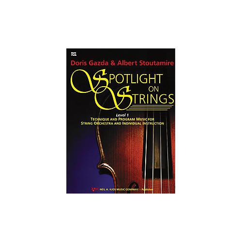 KJOS Spotlight On Strings 1 Violin