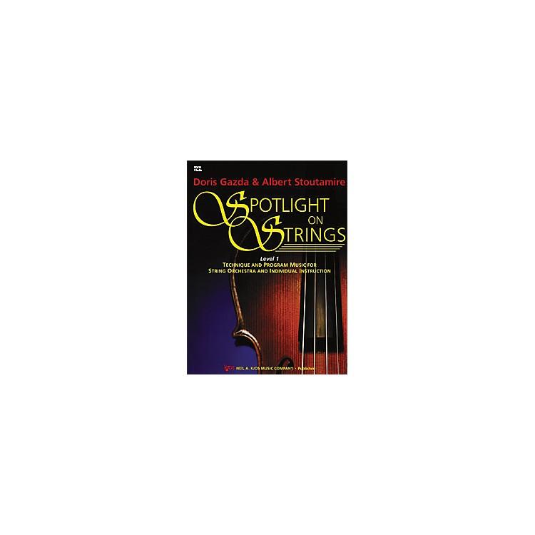 KJOSSpotlight On Strings 1 Violin