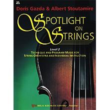 KJOS Spotlight On Strings 2 Cello