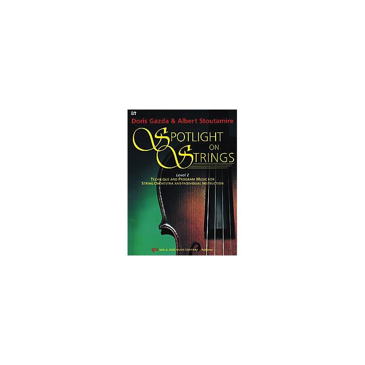 KJOSSpotlight On Strings Book 2 Violin