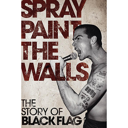 Omnibus Spray Paint the Walls - The Story of Black Flag Omnibus Press Series Softcover-thumbnail