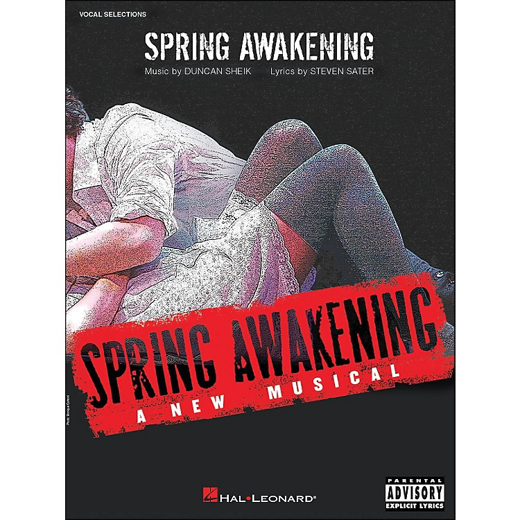 Hal Leonard Spring Awakening - A New Musical arranged for piano, vocal, and guitar (P/V/G)