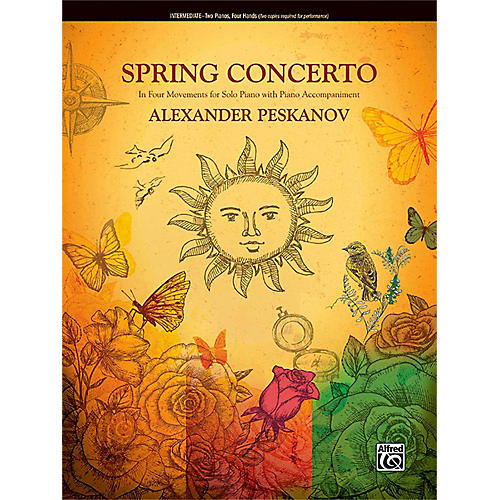 Alfred Spring Concerto Intermediate Duet 2 copies required for performance-thumbnail
