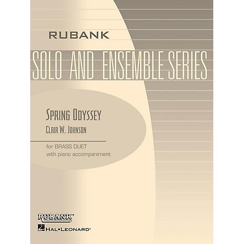 Rubank Publications Spring Odyssey (Brass Duet with Piano - Grade 3) Rubank Solo/Ensemble Sheet Series Book-thumbnail
