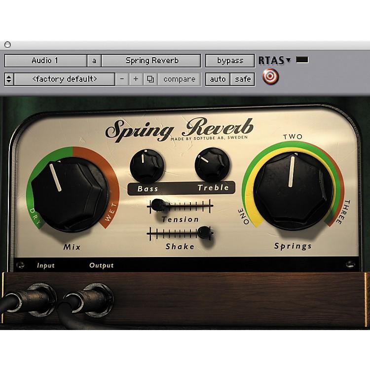 SoftubeSpring Reverb Plug-in - NativeSoftware  Download