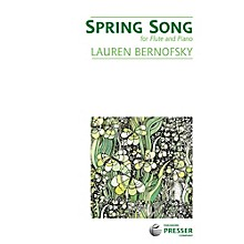 Carl Fischer Spring Song - Flute with Piano