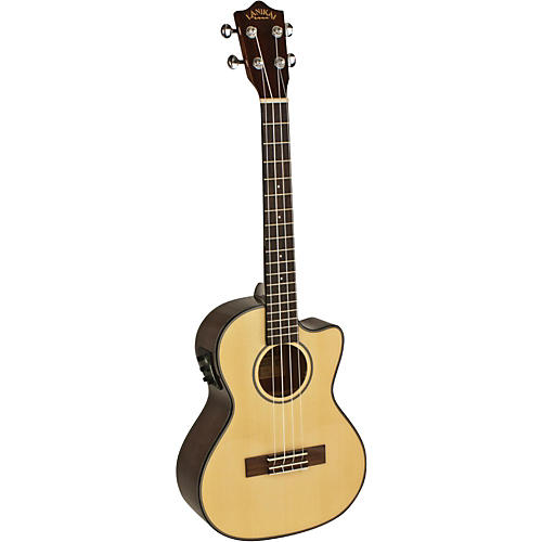 Lanikai Spruce Series S-TEK Tenor Acoustic-Electric Ukulele with Fishman Kula Electronics